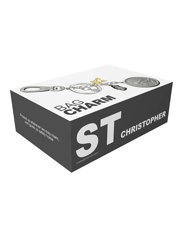 bagcharm saint christopher silver metalmorphose mtm110 2