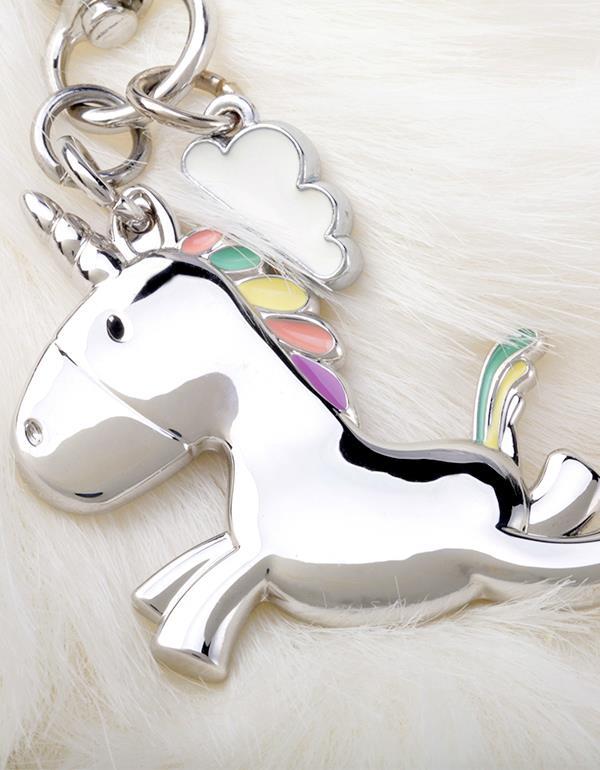 bagcharm unicorn silver metalmorphose mtm181 8