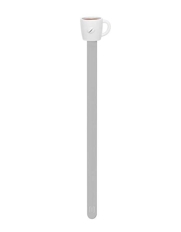 bookmark cup coffee white metalmorphose mtmb232 4