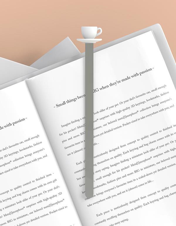 bookmark cup tea white metalmorphose mtmb233 7