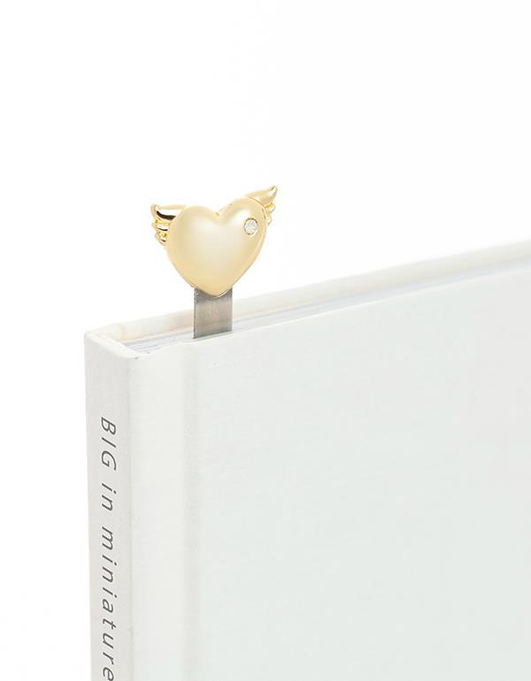 bookmark heart gold rosegold metalmorphose mtmb224 8