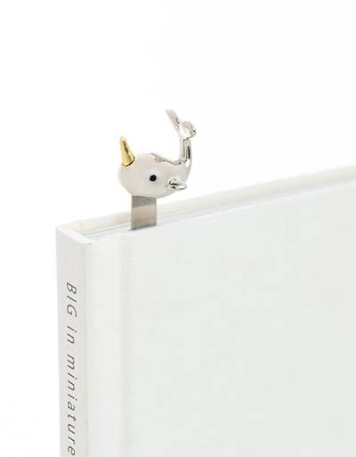 bookmark narwhal silver metalmorphose mtmb221 13