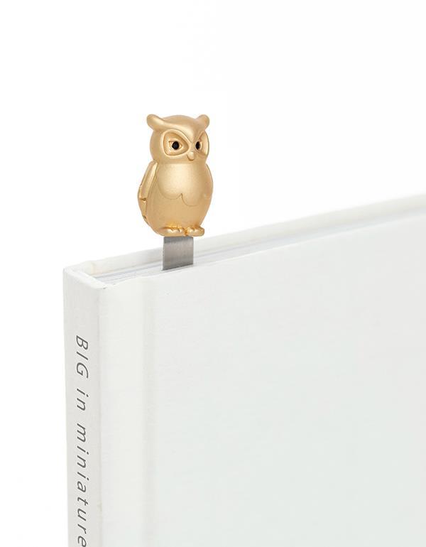 bookmark owl gold metalmorphose mtmb234 1