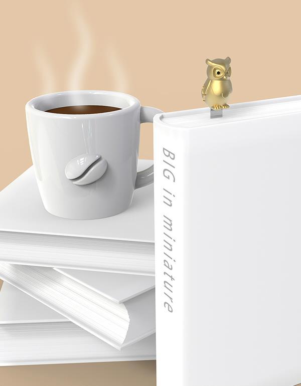 bookmark owl gold metalmorphose mtmb234 6
