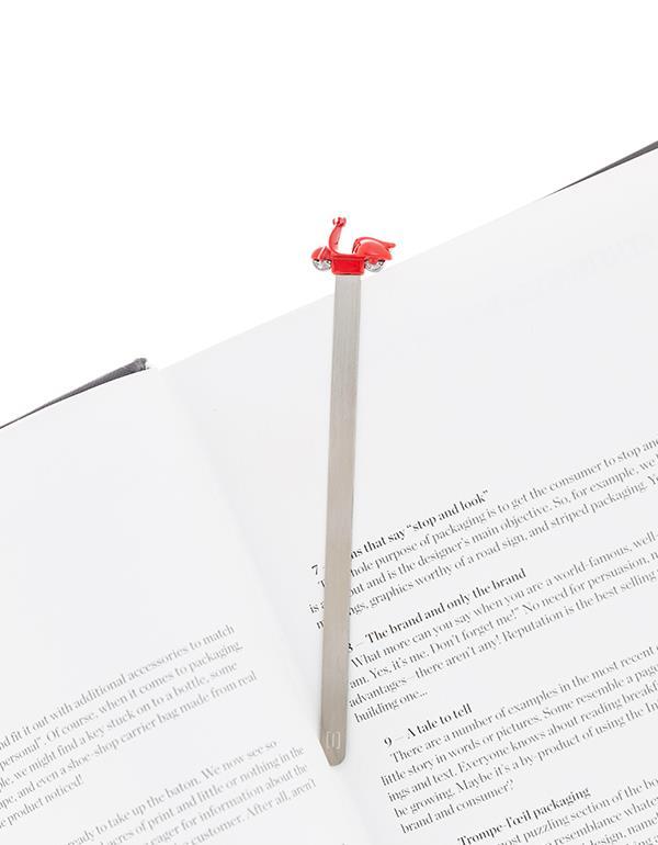 bookmark scooter red metalmorphose mtmb203 4