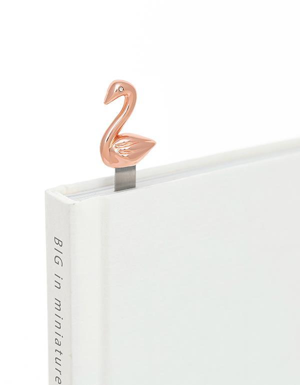bookmark swan rosegold metalmorphose mtmb219 2
