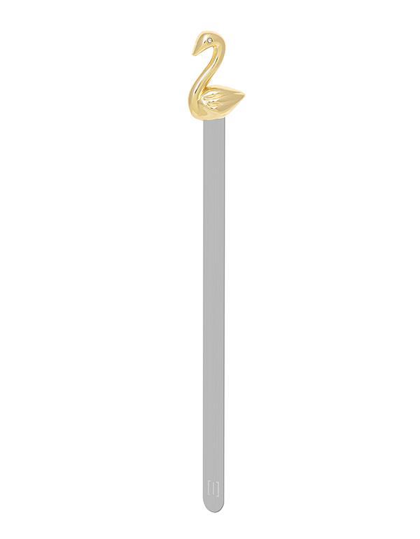 bookmark swan rosegold metalmorphose mtmb219 3