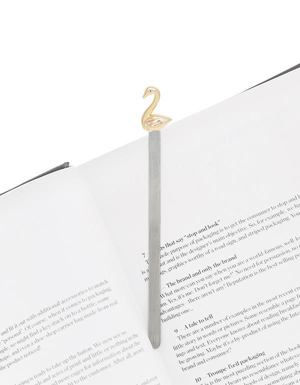 bookmark swan rosegold metalmorphose mtmb219 5