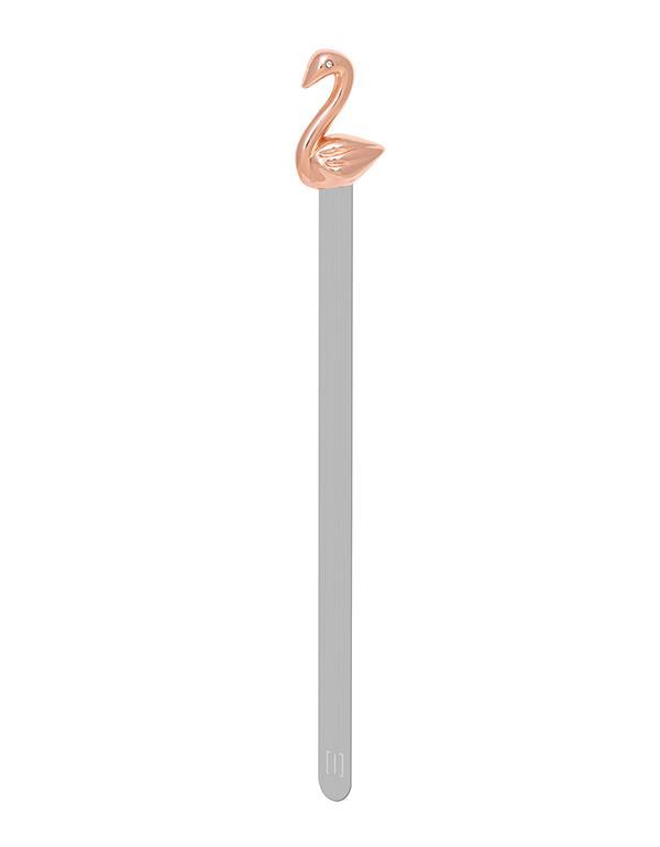bookmark swan rosegold metalmorphose mtmb219 6