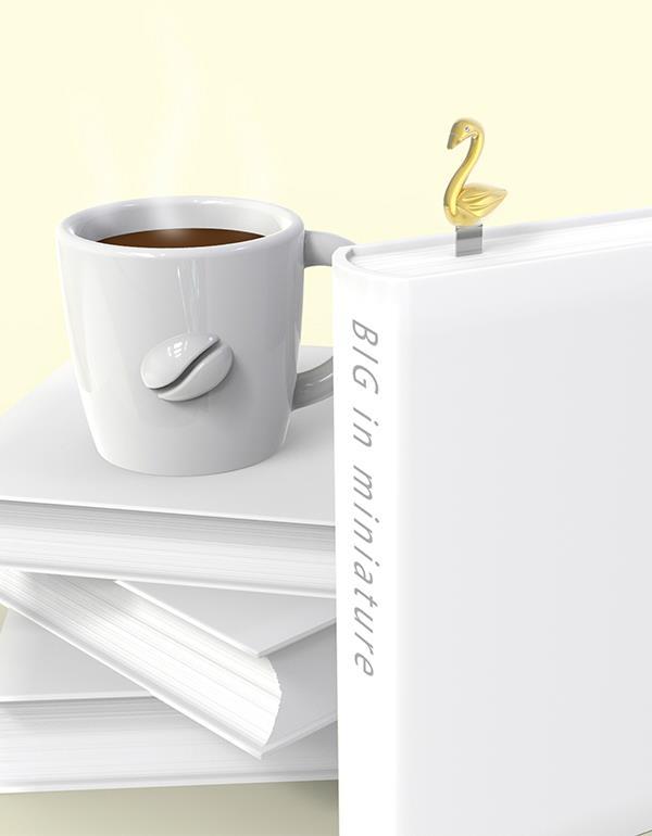 bookmark swan rosegold metalmorphose mtmb219 9