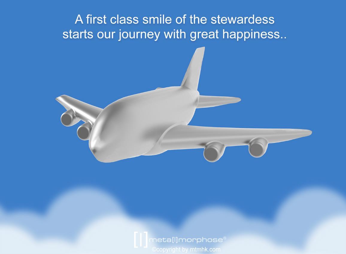 keyring airplane silver metalmorphose mtm938 4