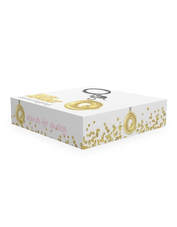 keyring balloon letter Q party gold metalmorphose mtm10q 2