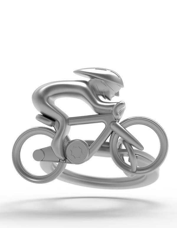 keyring bicycle silver metalmorphose mtmtm069 4