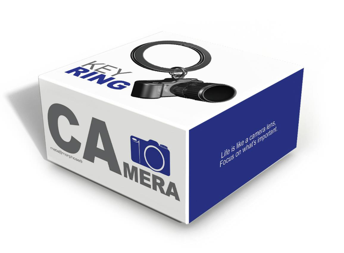 keyring camera black metalmorphose mtm071 2