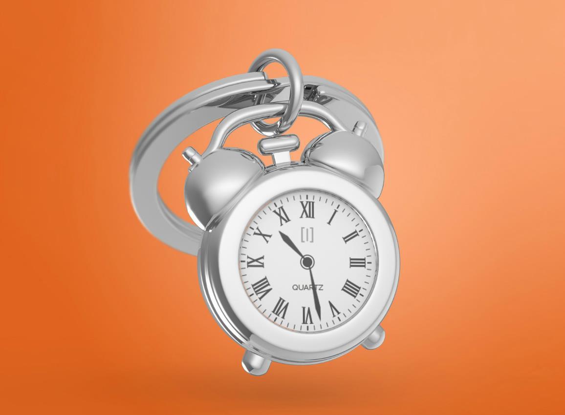 keyring clock vintage gold black pink metalmorphose mtm126 5