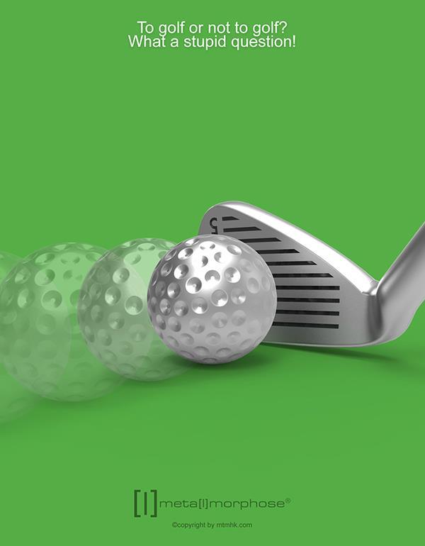 keyring golf club silver metalmorphose mtm929 4