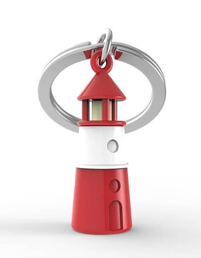 keyring lighthouse red metalmorphose mtm070 2