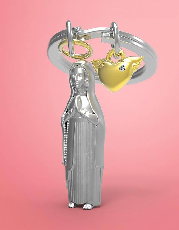 keyring maria silver metalmorphose mtm212 5