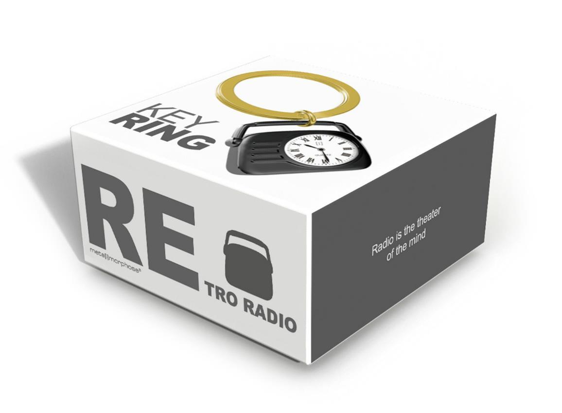 keyring radio black blue pink metalmorphose mtm124 7